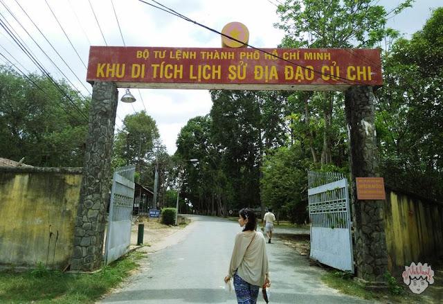 Gapura Cu Chi Tunnels