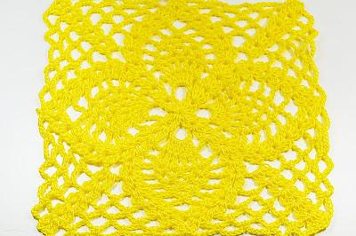 2 - Crochet Cuadro de puntos de piñas Majovel Crochet ganchillo.