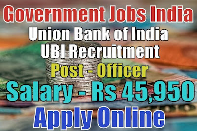 Union Bank of India UBI Recruitment 2018