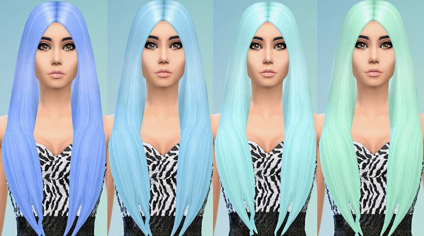 My Sims 4 Blog: Pastel Hair Recolors by Ohmyglobsims