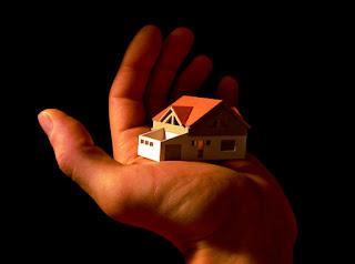 cara pembuatan miniatur rumah dari kertas