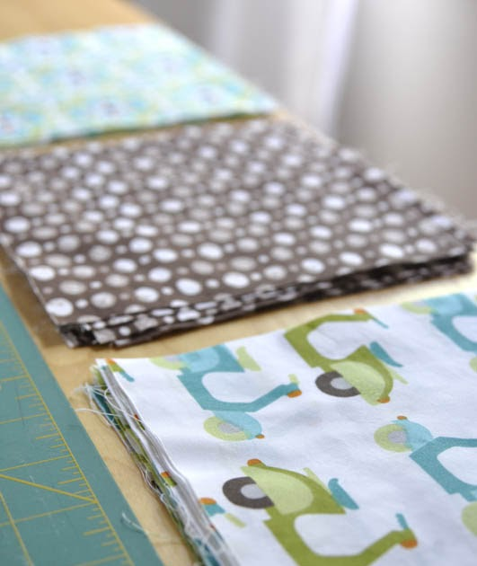 Monaluna Simple Baby Quilt Tutorial