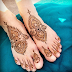foot mehndi - foot mehndi design 2018 - foot mehndi style - foot mehndi simple - Simple Foot Mehndi Design - New Mehndi Ideas - Foot Henna Ideas - Urdu Poetry World