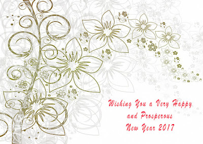 ew Year Greeting Cards 2017 for Professor