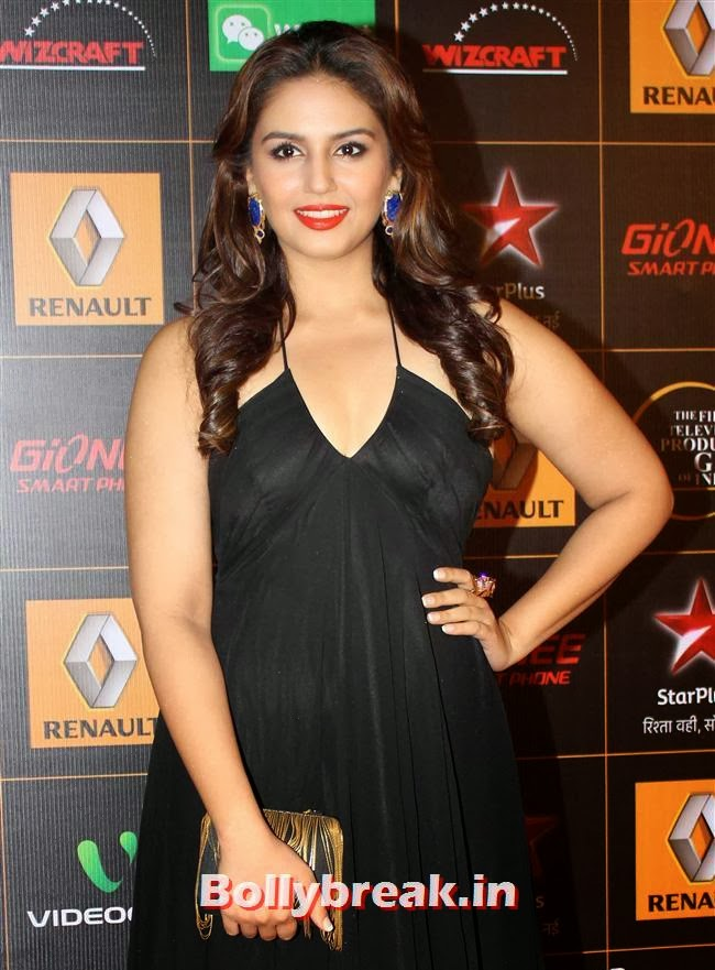 Huma Qureshi, Star Guild Awards 2014 Pics