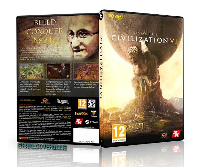 Sid Meier's Civilization VI Cover Box