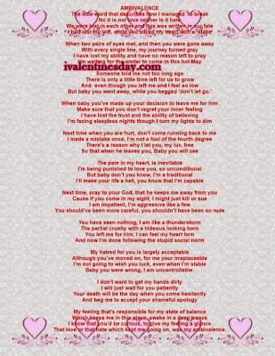 Adult Valentines Poems 91