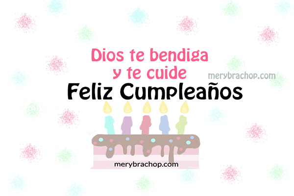 frases de cumpleanos cristianas con imagen bonita para felicitar por Mery Bracho