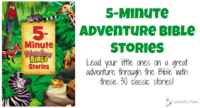 syncopated mama 5 minute adventure bible stories. Black Bedroom Furniture Sets. Home Design Ideas