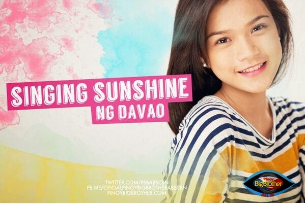 "Pinoy Big Brother Housemates photos - Maris Racal ""Singing Sunshine"""