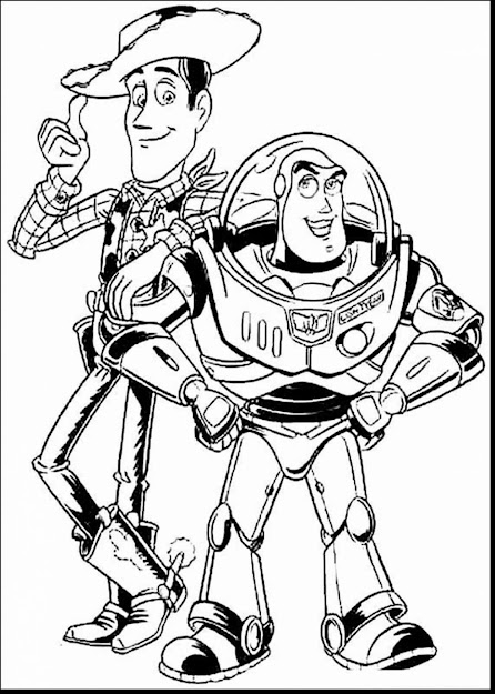 Good Toy Story Coloring Pages Printable With Toy Story Coloring Pages And Toy  Story Coloring Pages