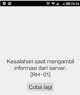 mengatasi Error RH-01 Google Play Store di Semua HP Android