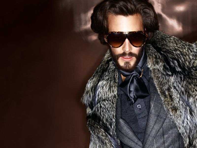 03783d1aea TOM FORD FALL WINTER 2012. AD CAMPAIGN WITH JONAS KESSELER WHO APPEARS IN  BOTH THE MENSWEAR AND EYEWEAR CAMPAIGNS.
