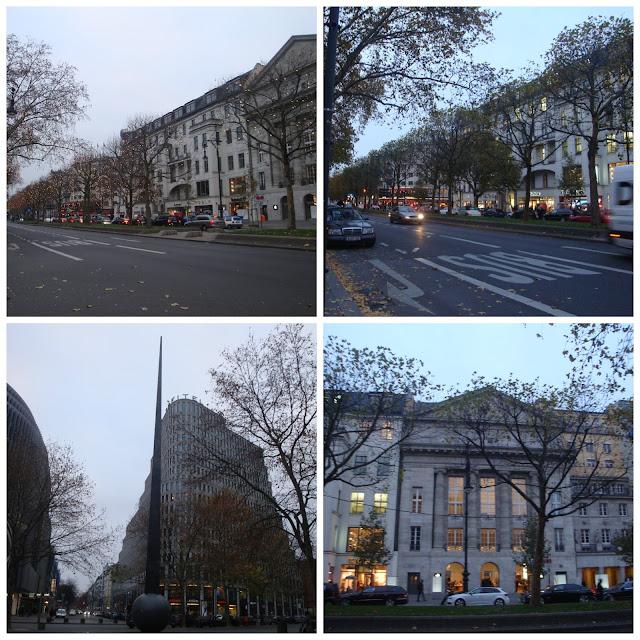 Avenida Kurfürstendamm ou Kudamm, em Berlim
