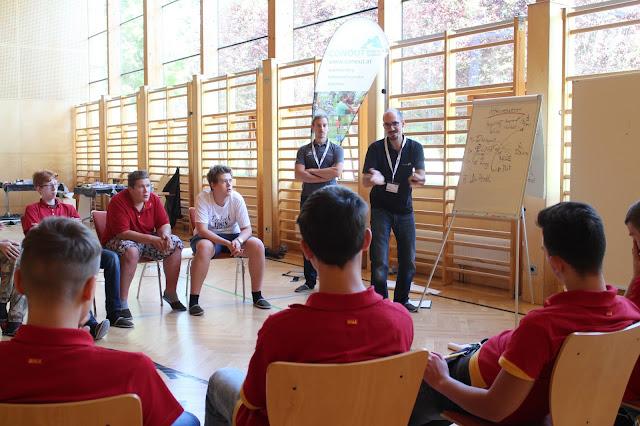 Teambuilding Ideen 2016 Conout Österreich - REWE Group Persönlichkeitsseminar für Lehrlinge