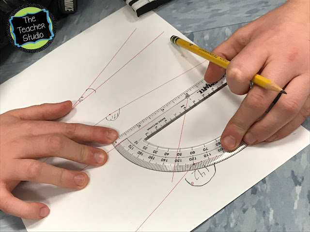 Teaching protractor skills