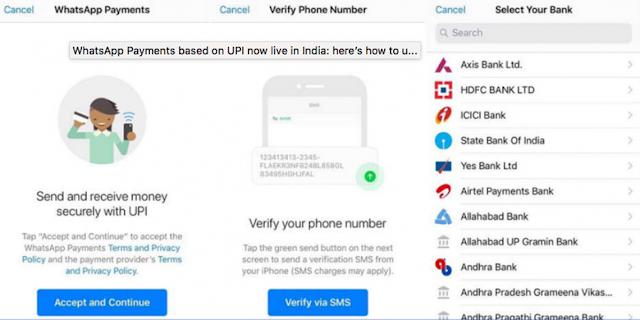 WhatsApp Mulai Bisa Dipakai Kirim Uang