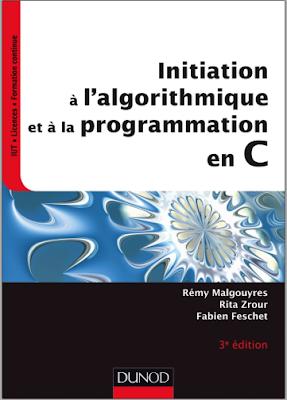 Télécharger Livre Gratuit Initiation à l'algorithmique et à la programmation en C pdf