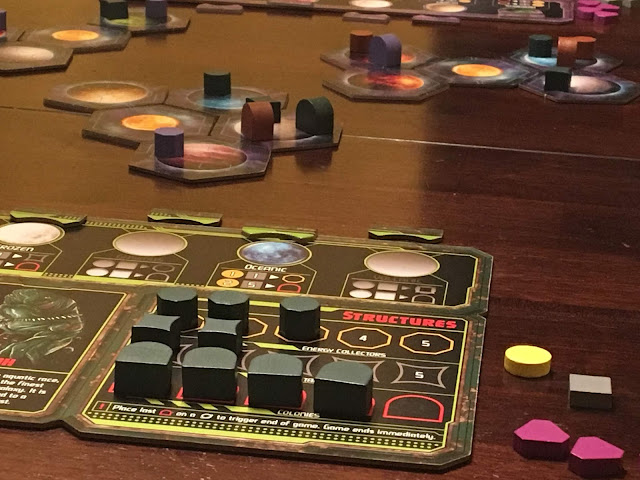 Horizons the board game from Daily Magic Games, Gameplay; photo by Benjamin Kocher