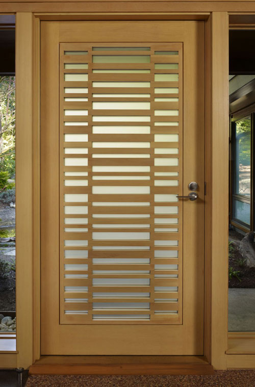 20 Best Modern Door Designs From Wood: Foundation Dezin & Decor...: Doors Design