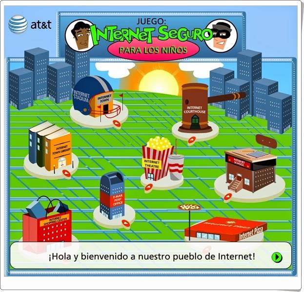 """Día de Internet Seguro, 7 de febrero: """"Juego: Internet seguro para los niños"""""""