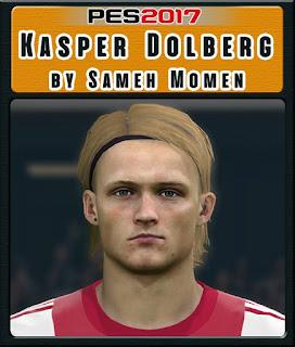 PES 2017 Faces Kasper Dolberg by Sameh Momen