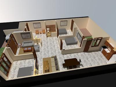 Contoh Desain Tata Ruang Rumah Minimalis-02
