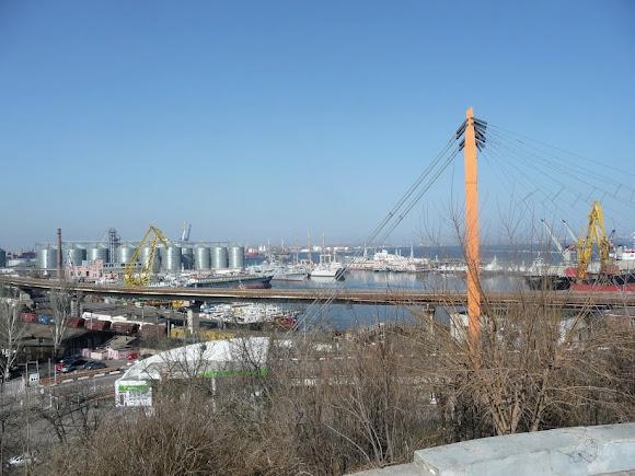 Одесса. Вантовый мост