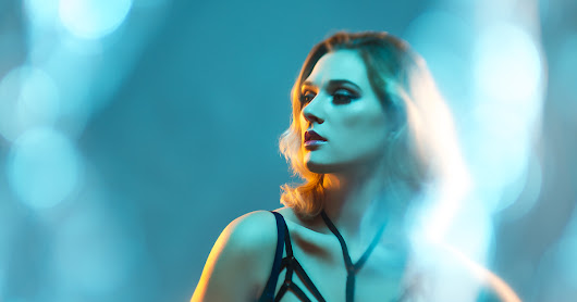 Using Colored Gels in Beauty Photography