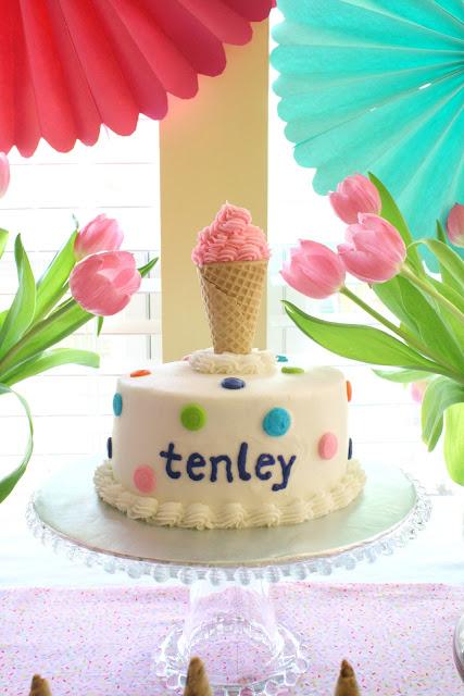 Chelsea Hatfield Tenley Turns 1