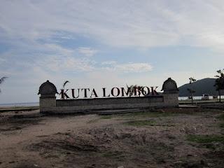 Obyek Wisata Pantai Kuta Lombok