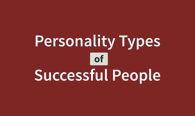 Personality Types of Successful People