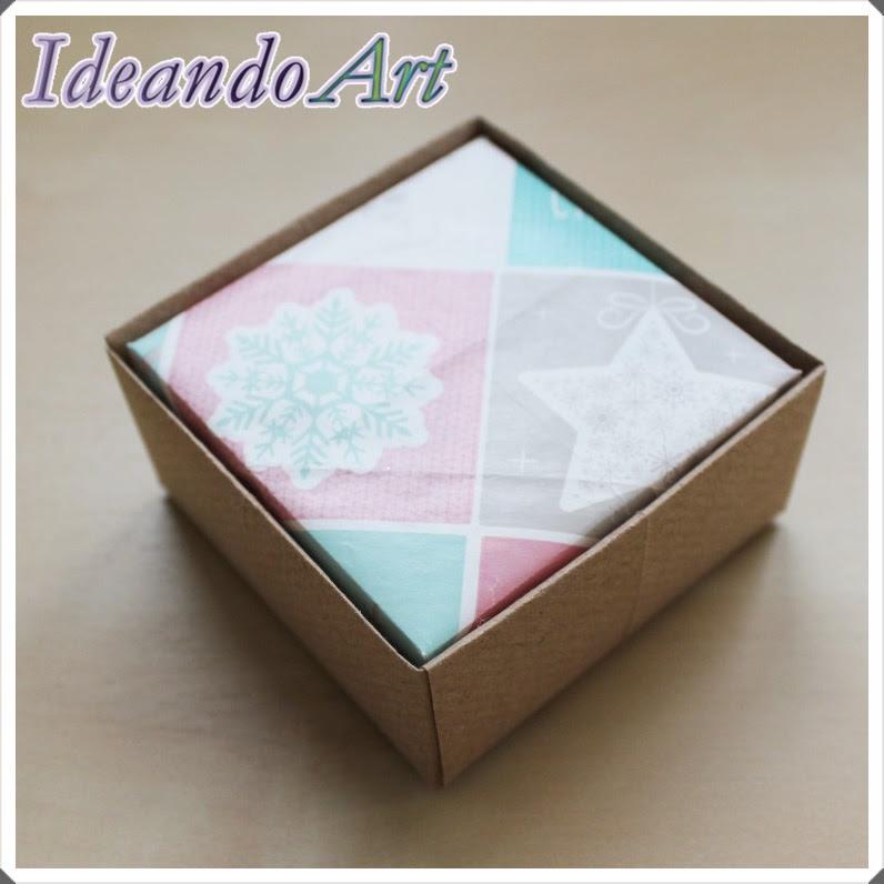 Cajita papel DIY