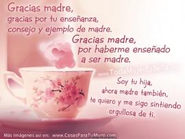 Gracias Madre Poemas imagenes para el dia de las madres 2016 con mensajes,poesias