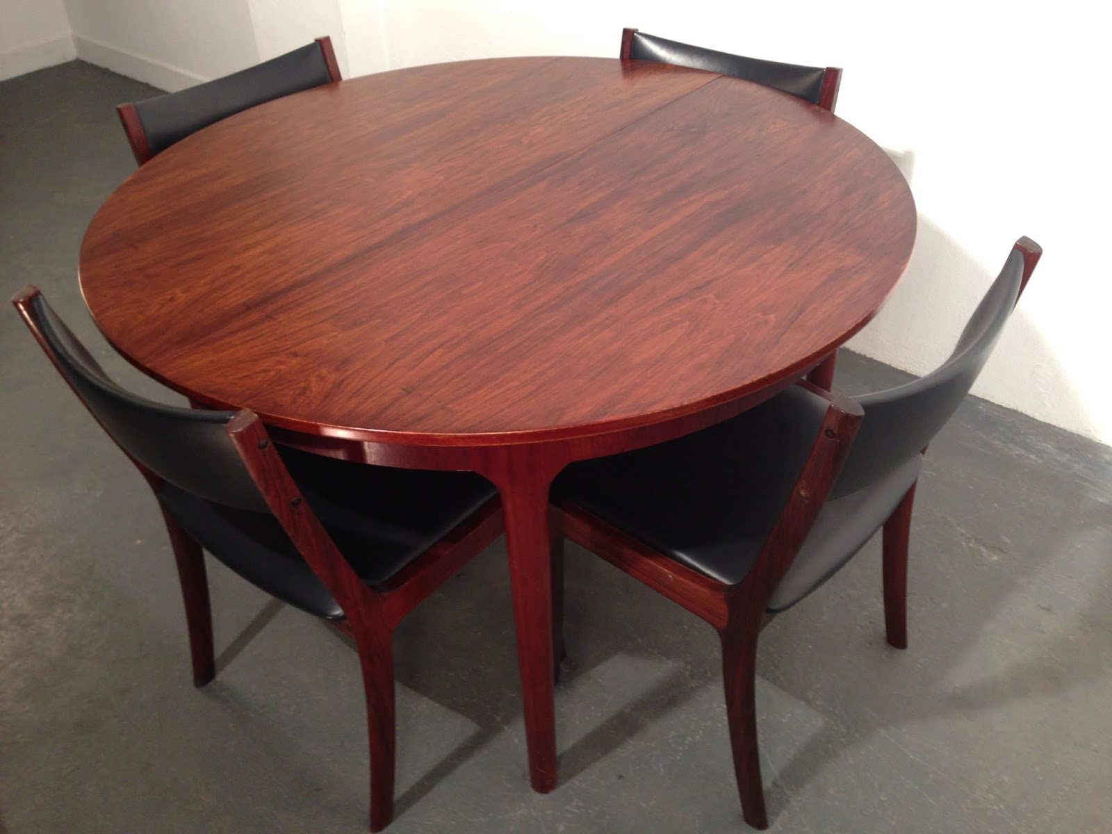 retro dining chairs ireland side with casters ocd vintage furniture 1970s rosewood