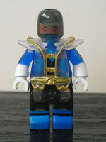 Power Rangers Super Samurai Mega Bloks Translucent Super Blue Ranger 02