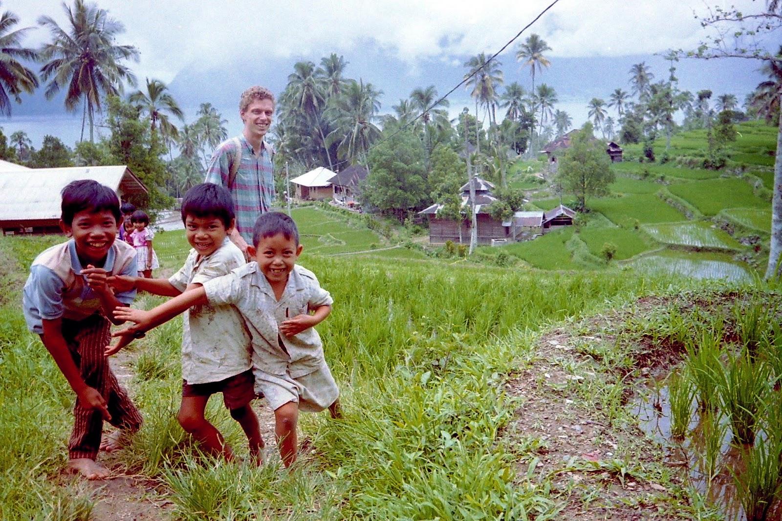Gerbert en Jos op reis Indonesi
