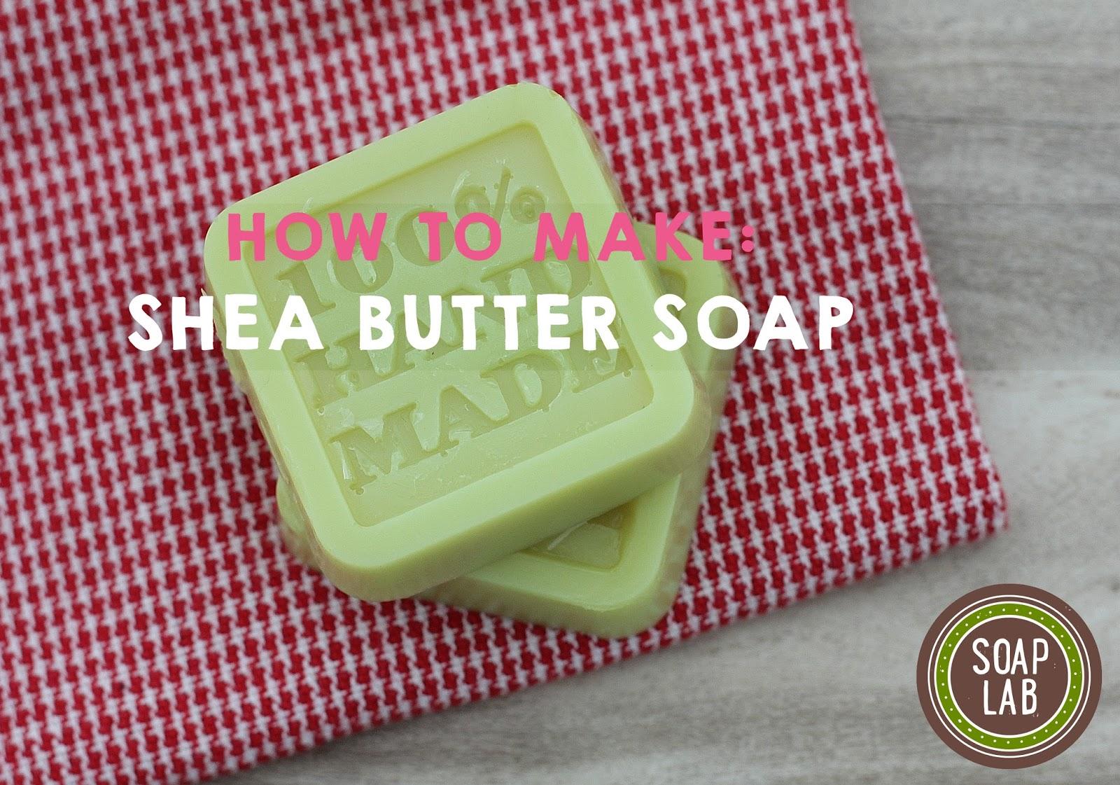 DIy Shea Butter soap malaysia