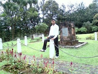 Manjeet Chhillar at LUM Nehru Park, Umsaw, Umiam