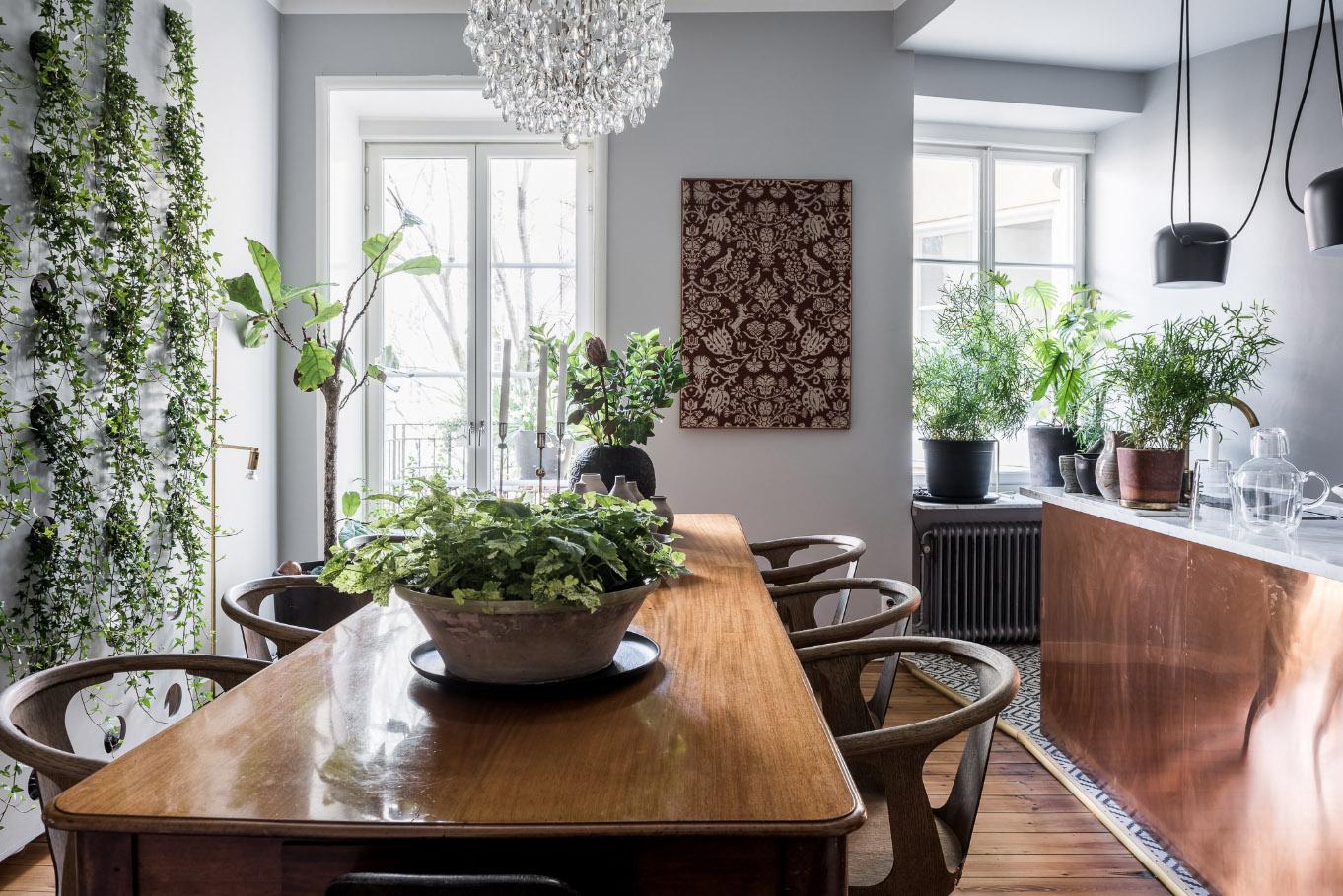 Decorazione: esempio di verde in cucina | ARC ART blog by Daniele Drigo
