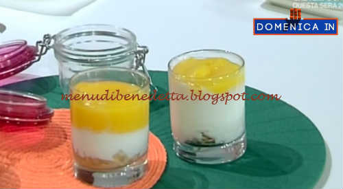 Domenica In - Bicchierini di mango ricetta Parodi