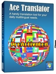 Ace Translator 14.3 with Text-to-Speech full version