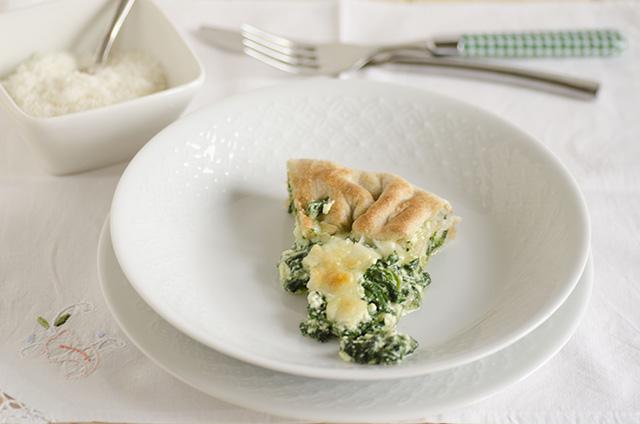 Qiche ricotta pinaci (torta salata)