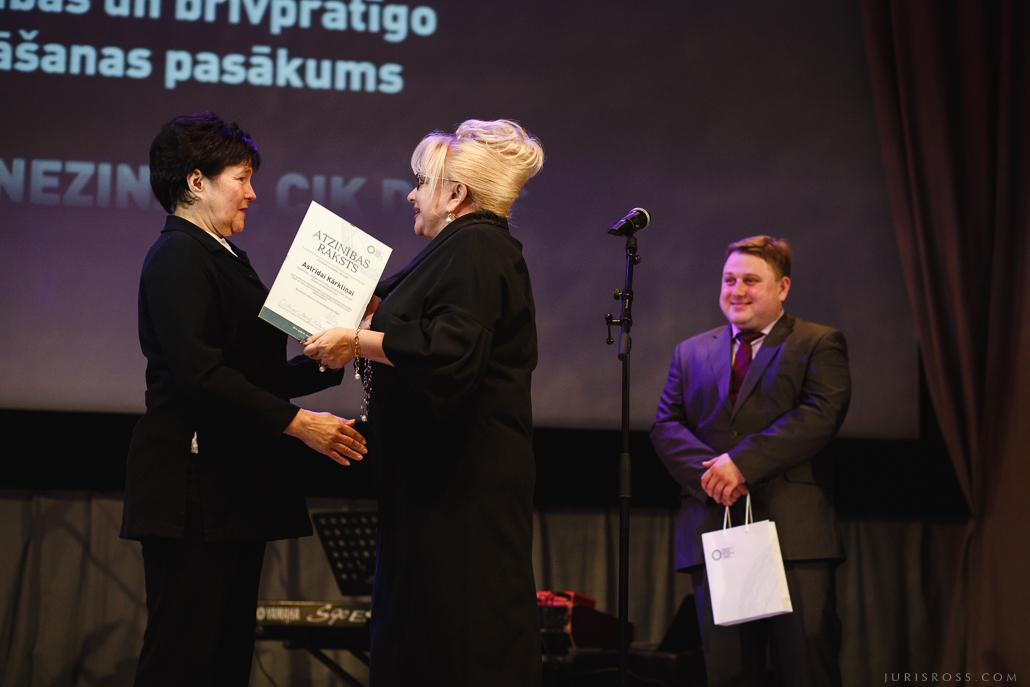 Astrīda Kārkliņa / Borisa un Ināras Teterevu fonds