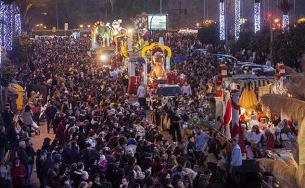 Horario e Itinerario de la Cabalgata de Reyes de Sevilla 2019