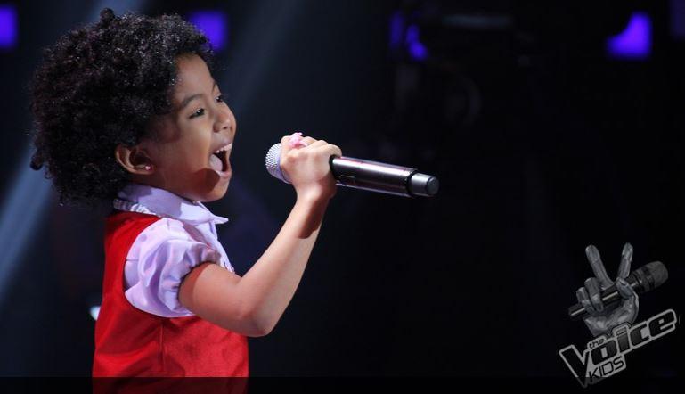"Carmela Lorzano belts out ""Tomorrow"" on 'The Voice Kids 3'"