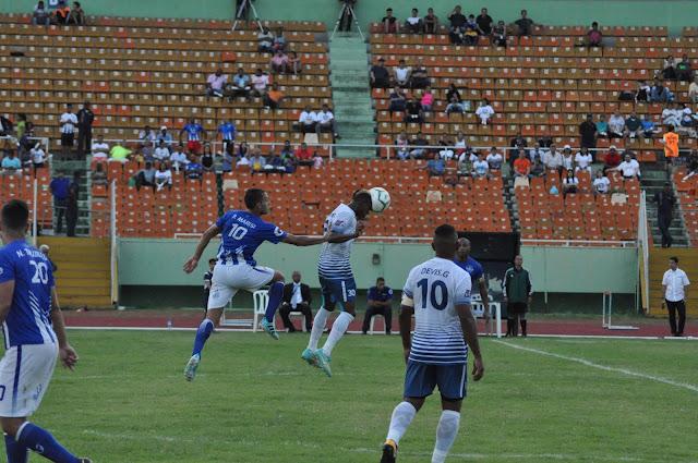 O&M y Atlántico FC empatan a un gol en LDF