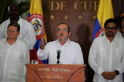 Gencatan senjata Kolombia setelah perang 52 tahun