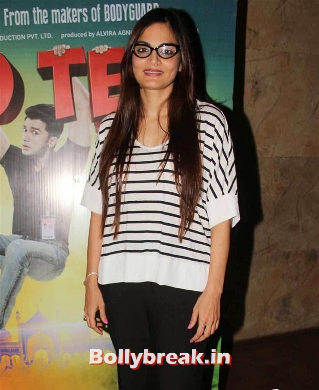 Alvira Khan, Daisy Shah, Sangeeta Bijlani at O Teri Special Screening at Lightbox