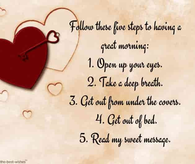 text message five steps picture
